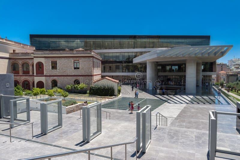 上城博物馆雅典希腊 免版税图库摄影