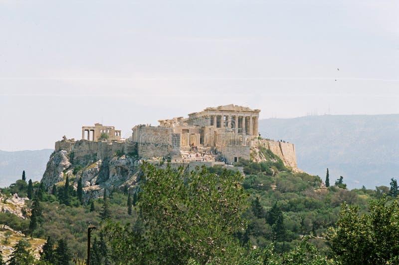 上城希腊 库存图片