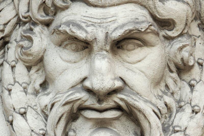 上帝宙斯 免版税库存图片