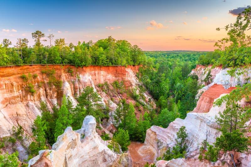 上帝峡谷国家公园 免版税库存图片