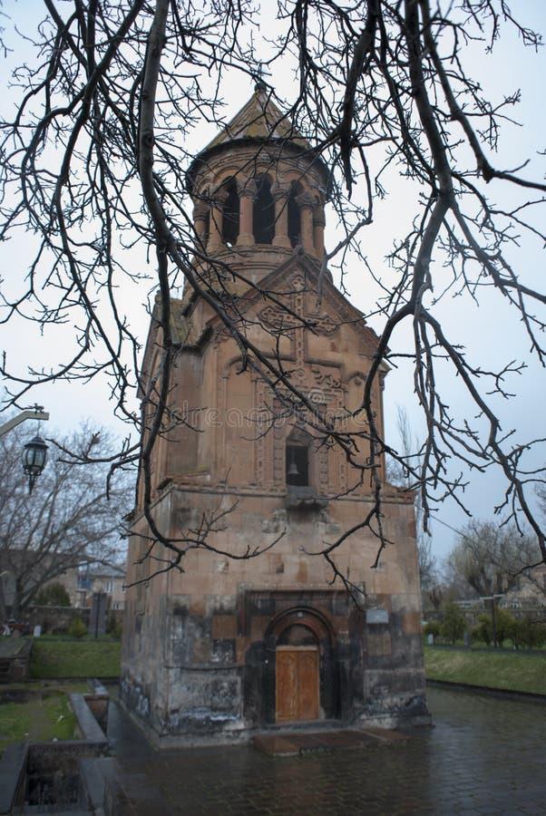 上帝教会装饰的St圣洁母亲 免版税库存照片