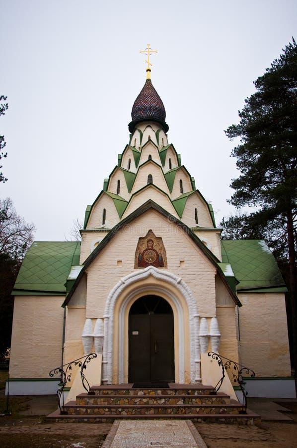 上帝的母亲的叹气的教会 免版税图库摄影