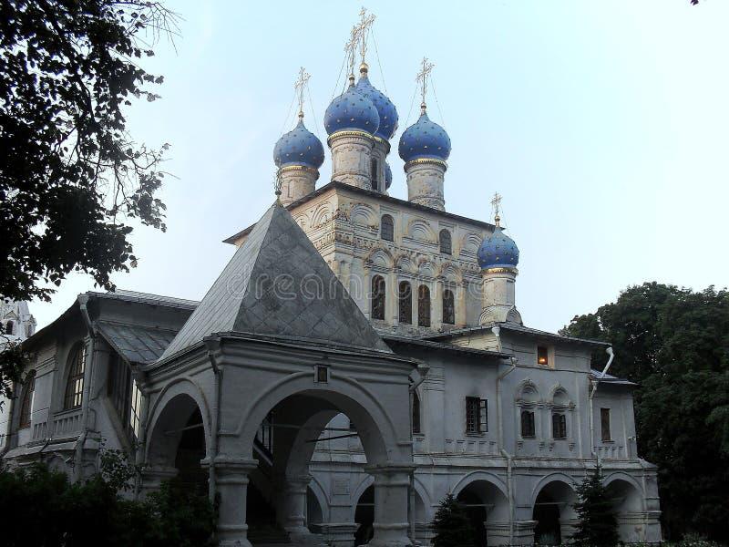 上帝的母亲的喀山图标的教会 免版税库存照片