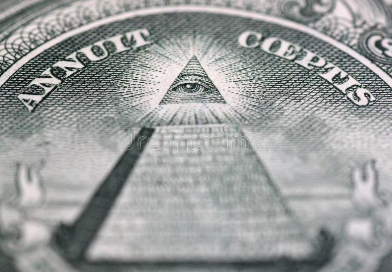 上帝的眼睛 免版税图库摄影