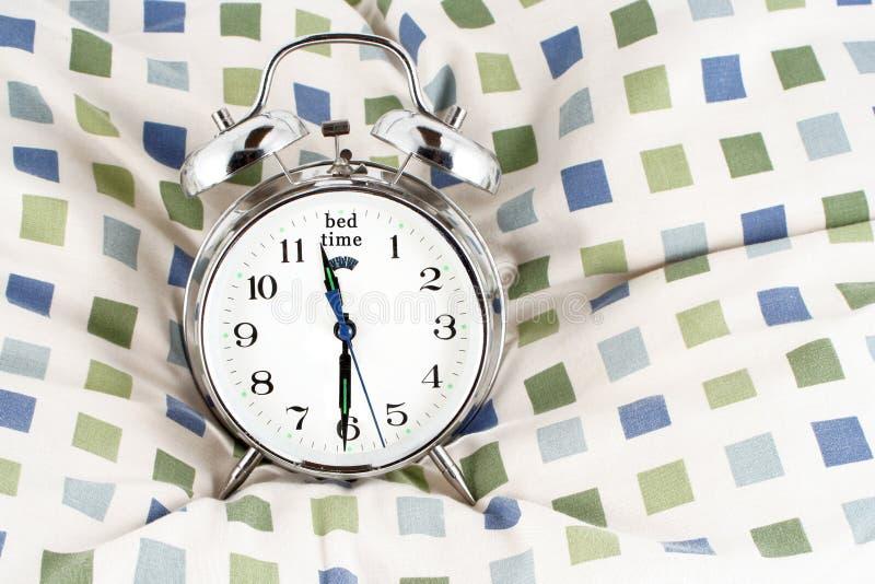 上床时间 免版税库存图片