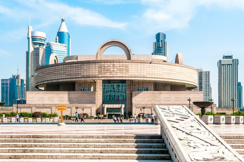 上海博物馆 免版税库存照片