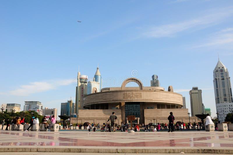 上海博物馆 库存照片