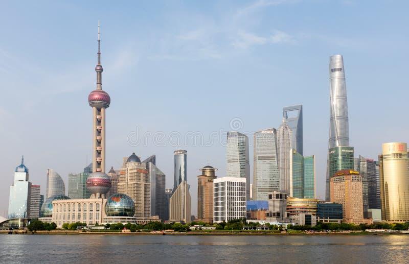 上海地平线2015年,中国 免版税库存照片