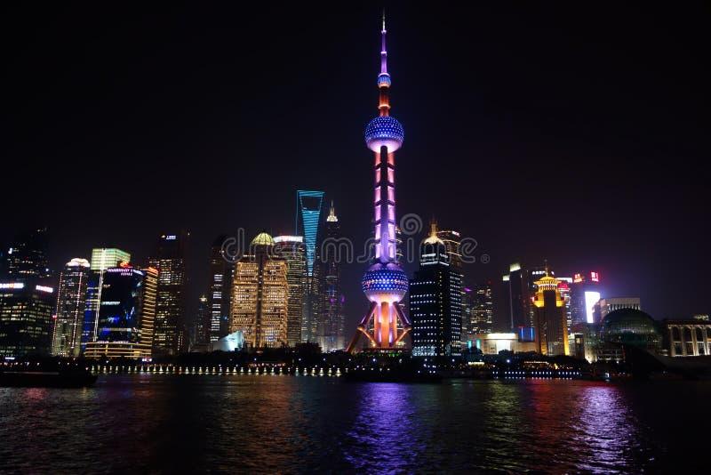 上海地平线 库存图片