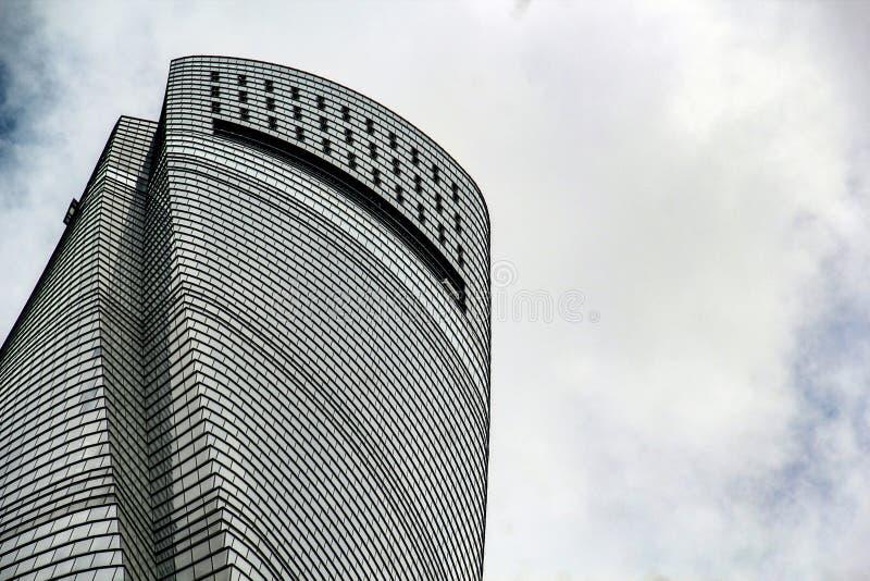 上海塔的上面 免版税库存照片