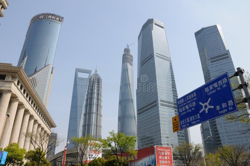 上海塔 图库摄影