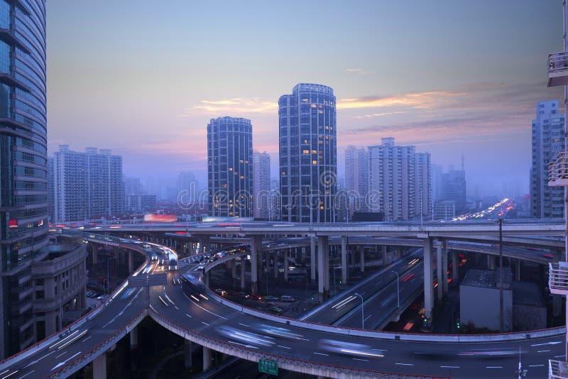 上海市天桥 库存图片