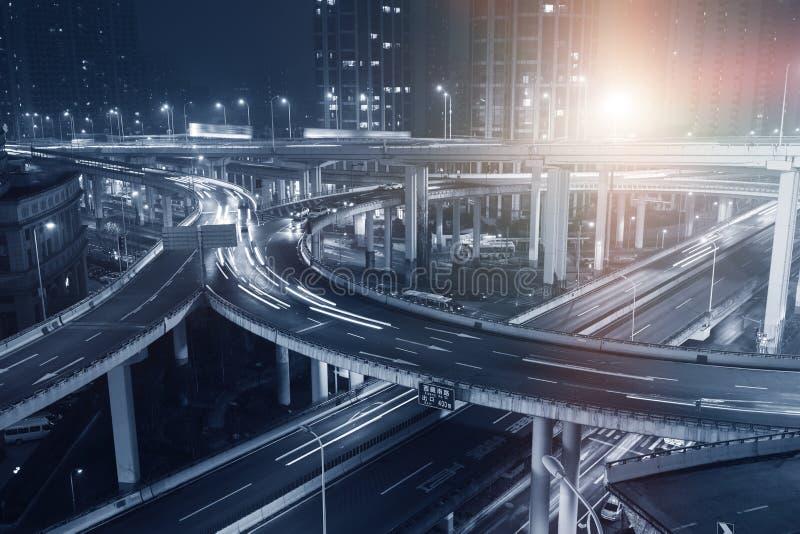 上海市天桥 免版税库存照片