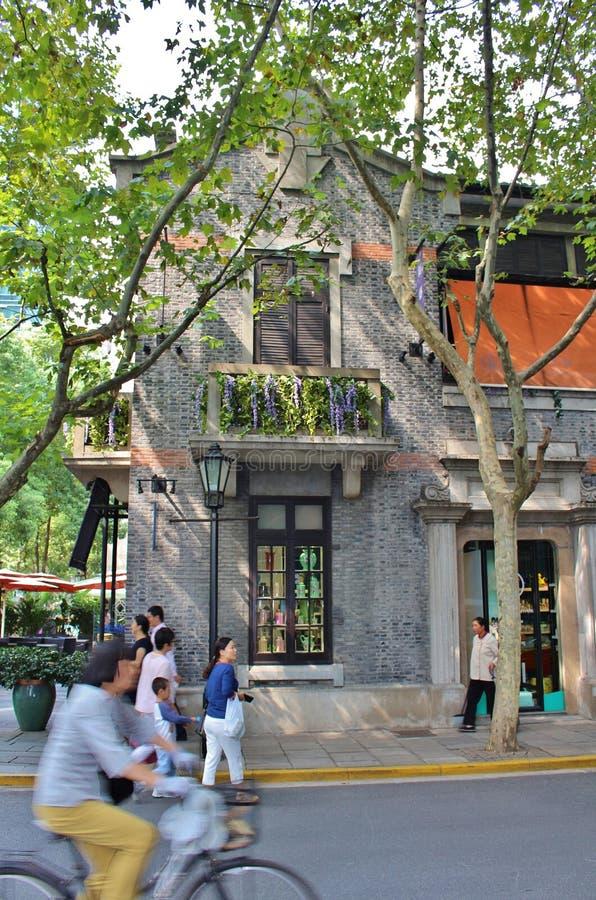 上海法国人让步 库存照片