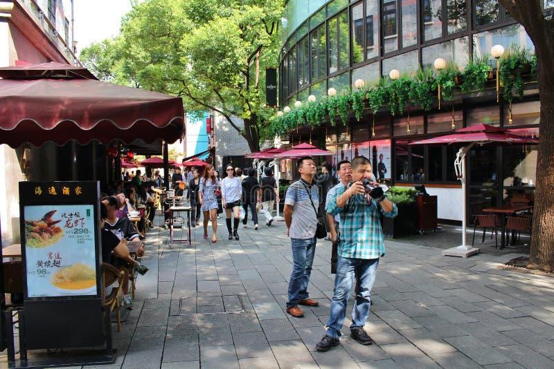 上海法国人让步 库存图片
