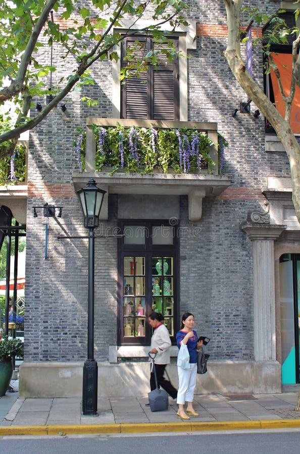 上海法国人让步 免版税库存照片