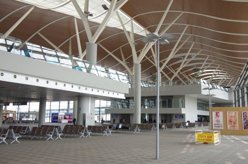 上海浦东国际机场 免版税库存图片