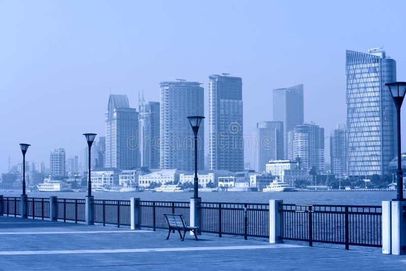 上海浦东,公园 免版税图库摄影