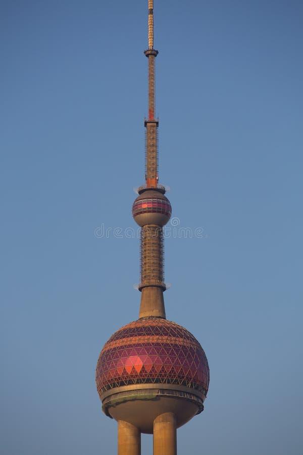 上海珍珠塔 库存图片