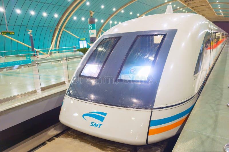 上海磁悬浮火车驻地中国 库存图片