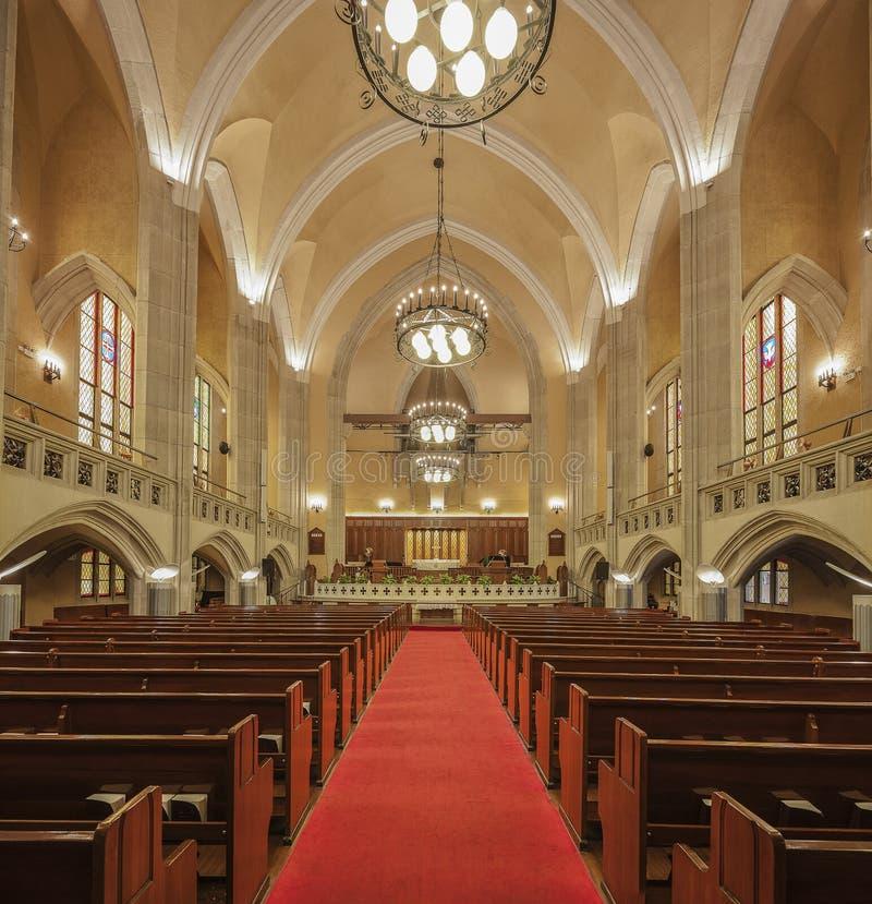 上海穆尔纪念品教会 免版税库存图片
