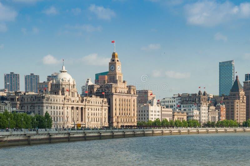 上海障壁历史大厦 库存图片