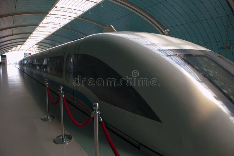 上海Transrapid 库存图片