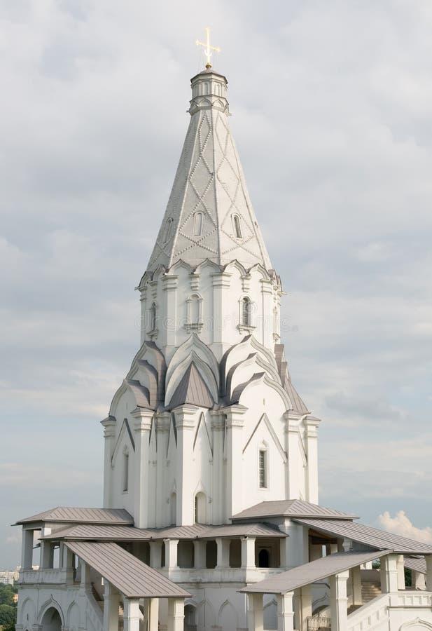 上生教会莫斯科 库存照片