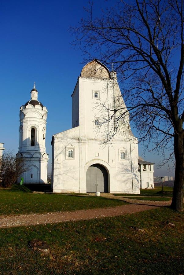 上生教会莫斯科 图库摄影