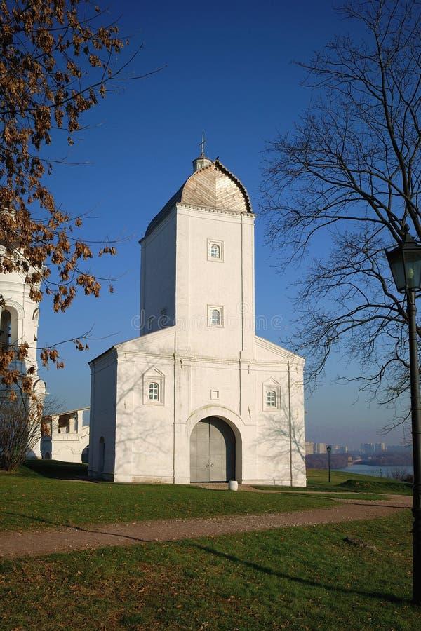 上生教会莫斯科 库存图片