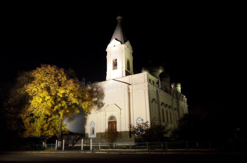 上生的教会 库存图片
