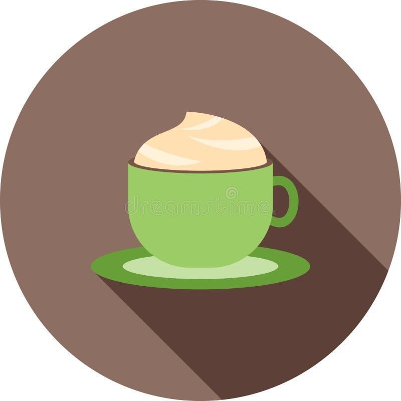 上等咖啡 向量例证
