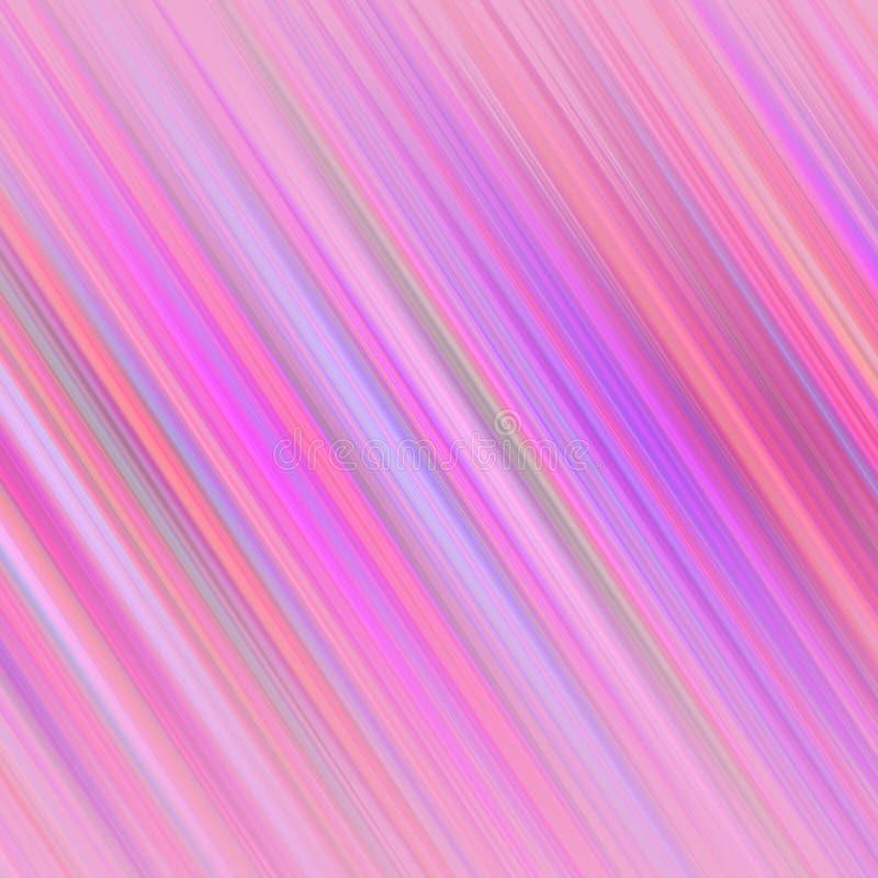 上色与发光的对角线的抽象未来派背景设计 向量例证