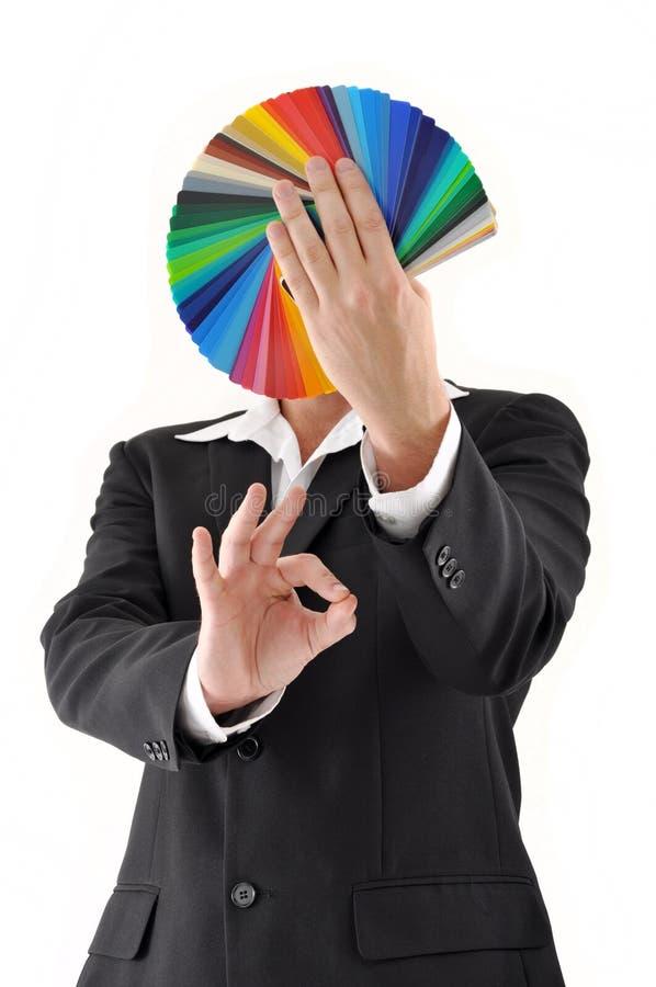 上色抽样人员 免版税库存图片