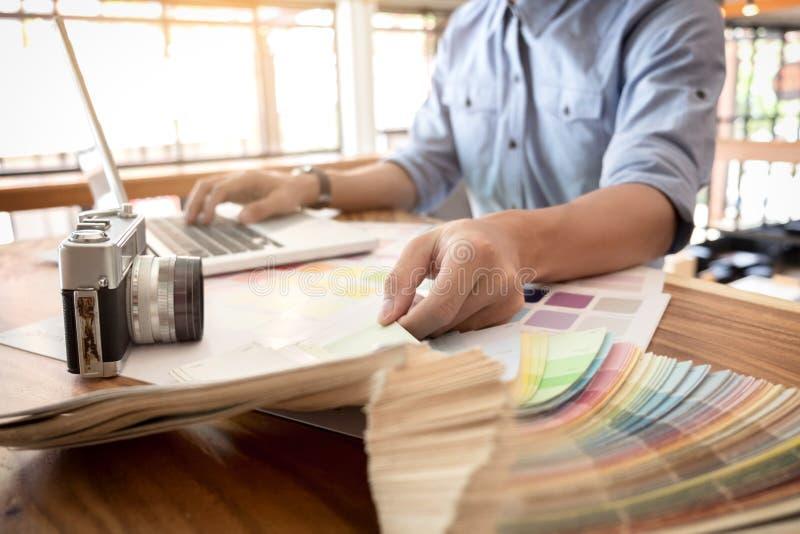 上色样品,上色样片样品,凹道建筑学,图表 免版税库存照片
