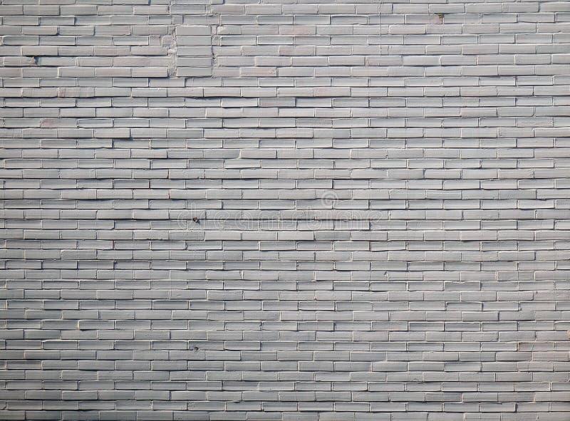 上色白色色的砖墙细节摄影  库存图片