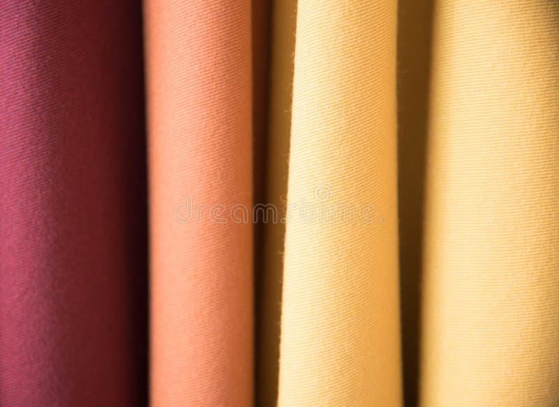 上色织品多范例纹理 免版税库存图片