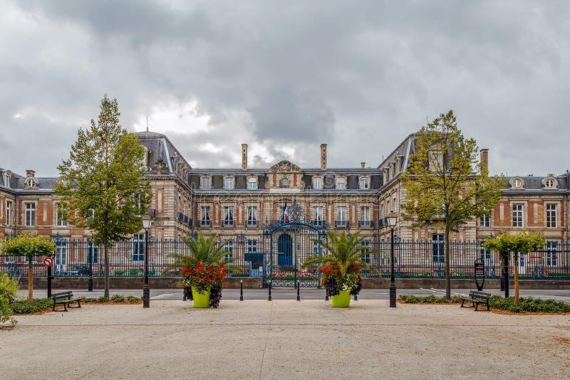 上莱茵省,科尔马,法国专区  免版税库存图片