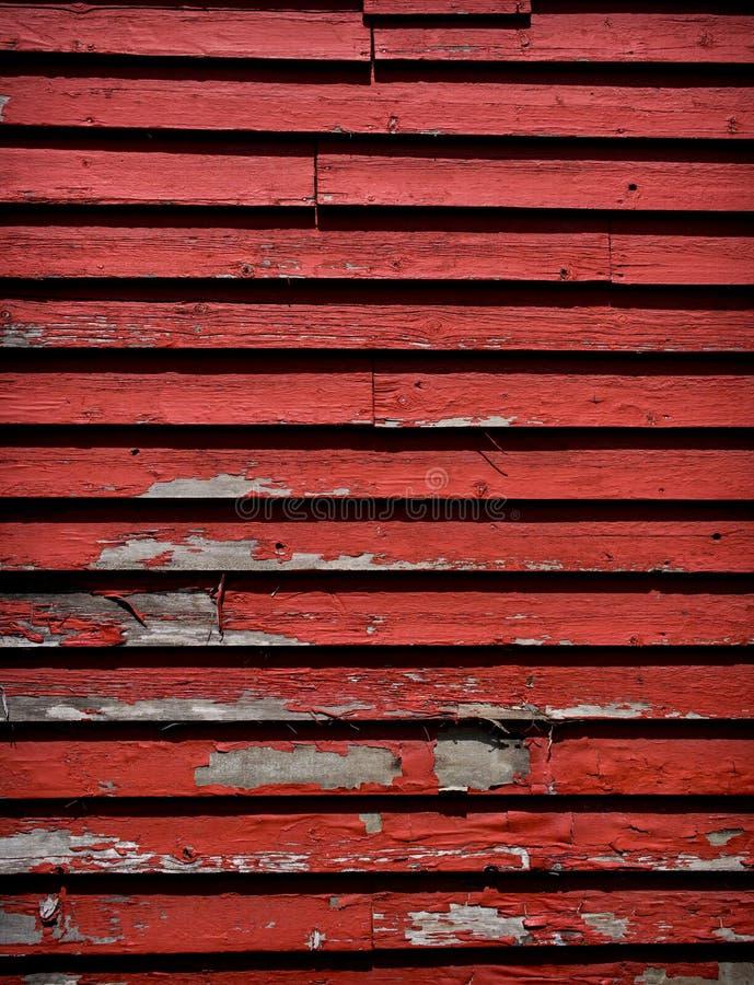 上被风化的红色 免版税库存照片