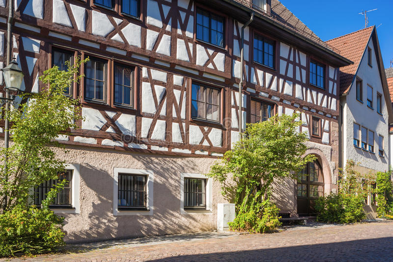 上部门房子在多尔恩斯特滕 图库摄影