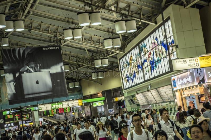 上野火车站,东京,日本 库存照片