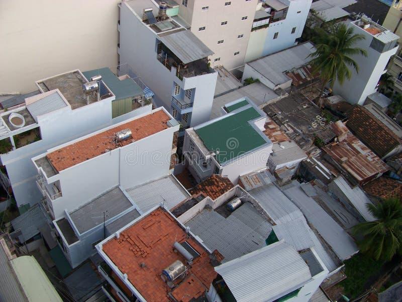 上面屋顶 免版税库存图片