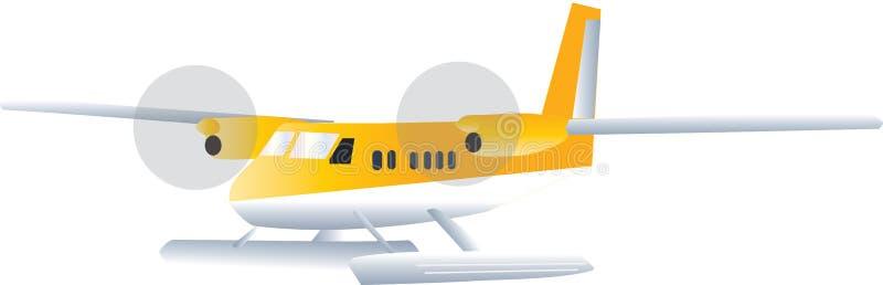水上飞机 库存例证