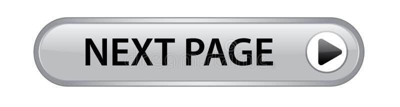 下个页按钮 免版税库存图片