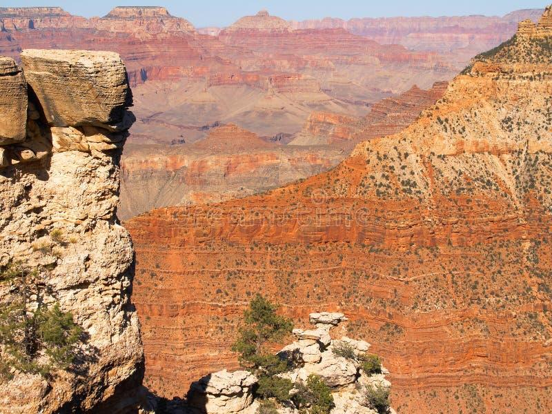 下午峡谷全部延迟 免版税图库摄影