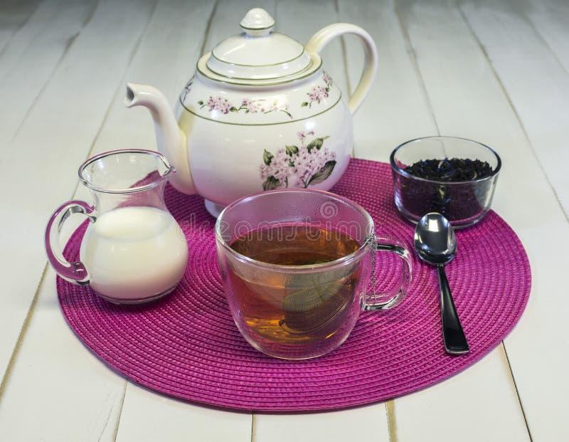 下午茶II 库存照片