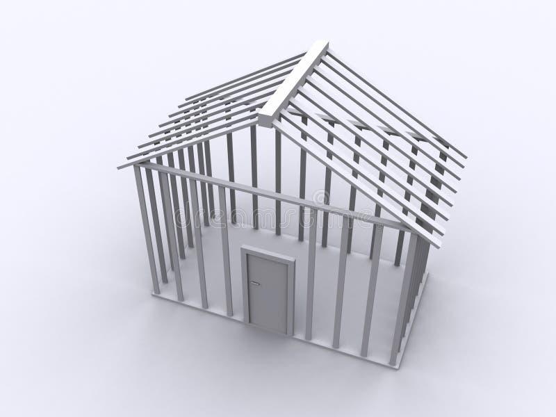 下建筑 库存例证