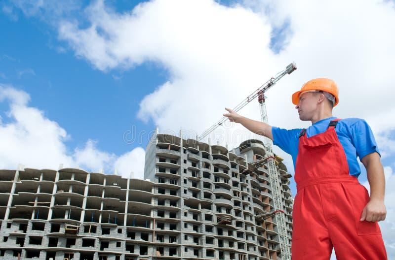 下建造者大厦 库存图片