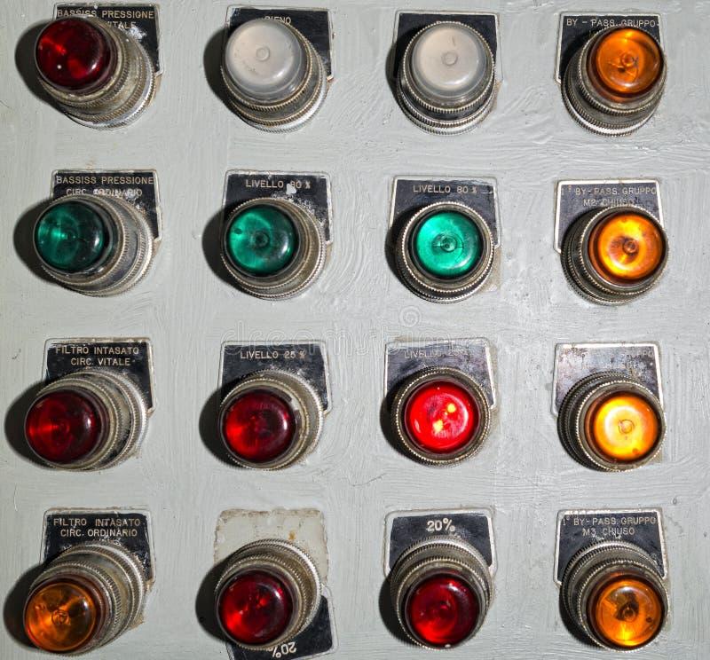 水下控制板 免版税库存照片