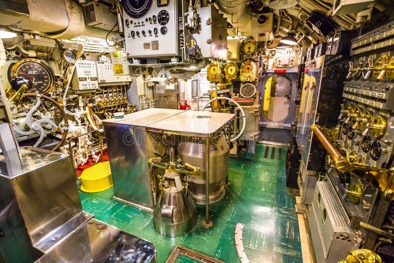 水下机舱 免版税库存图片